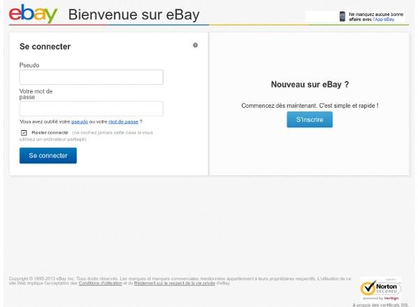 Mon eBay: Enchères perdues
