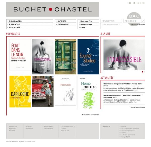 Bienvenue sur le site des éditions Buchet/Chastel