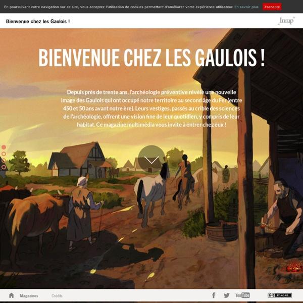 Bienvenue chez les Gaulois - Inrap - Magazine