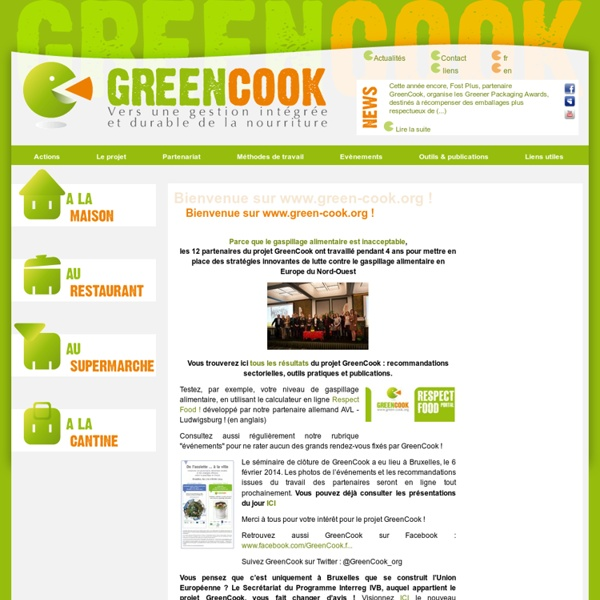 Bienvenue sur www.green-cook.org ! - www.green-cook.org