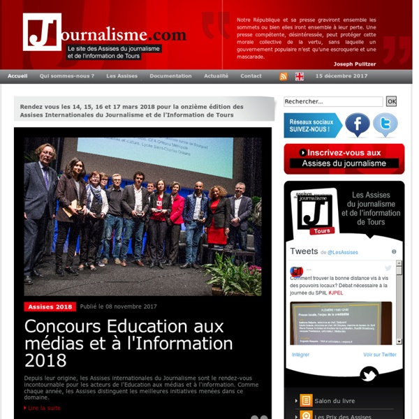 Journalisme.com - Accueil