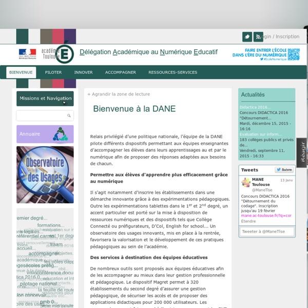 Mission Tice : Technologies de L'Information et de la Communication pour l'enseignement