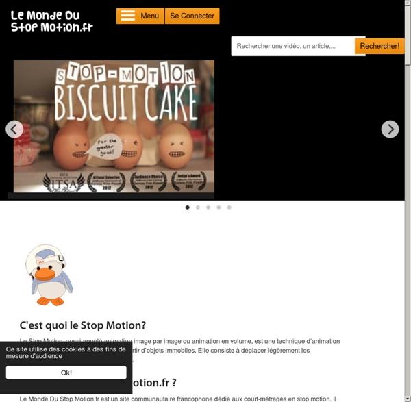 Bienvenue sur Le Monde Du Stop Motion
