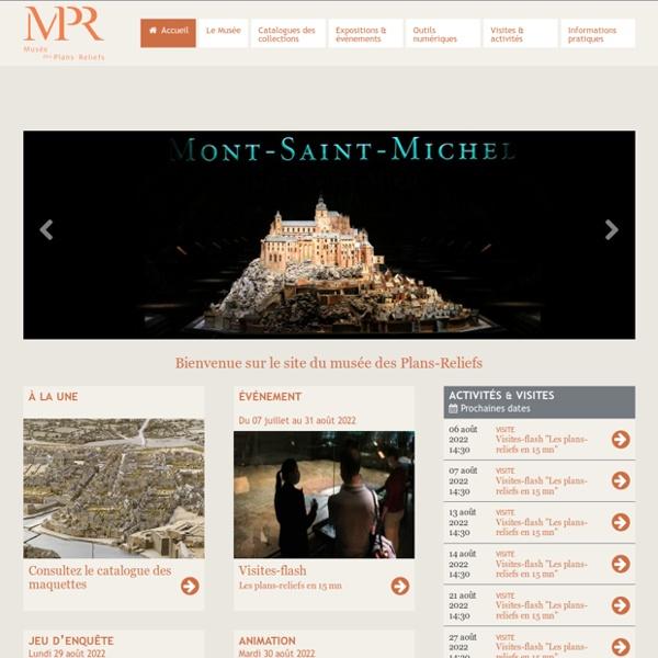 Musée des Plans-Reliefs : Accueil