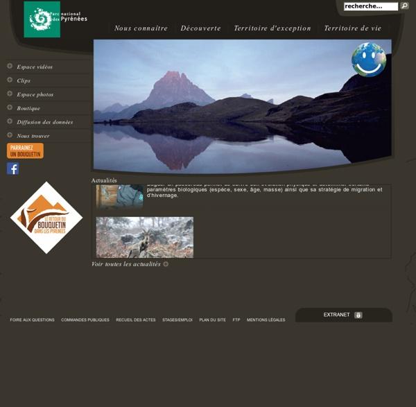Bienvenue sur le site du Parc National des Pyrénées