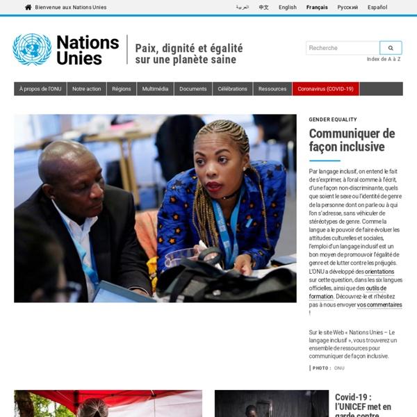 Bienvenue aux Nations Unies
