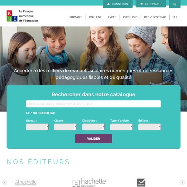 KNE - portail des contenus numériques éducatifs