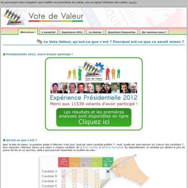 Vote de Valeur