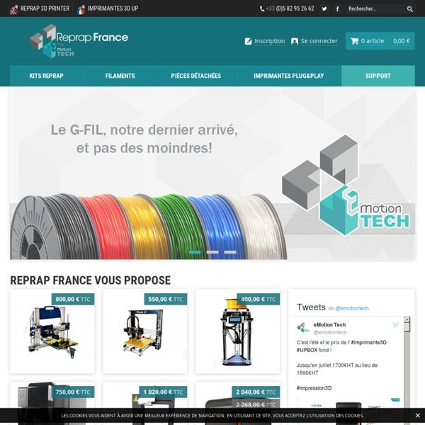 eMotion Tech - Reprap-France - Reprap-France - eMotion Tech
