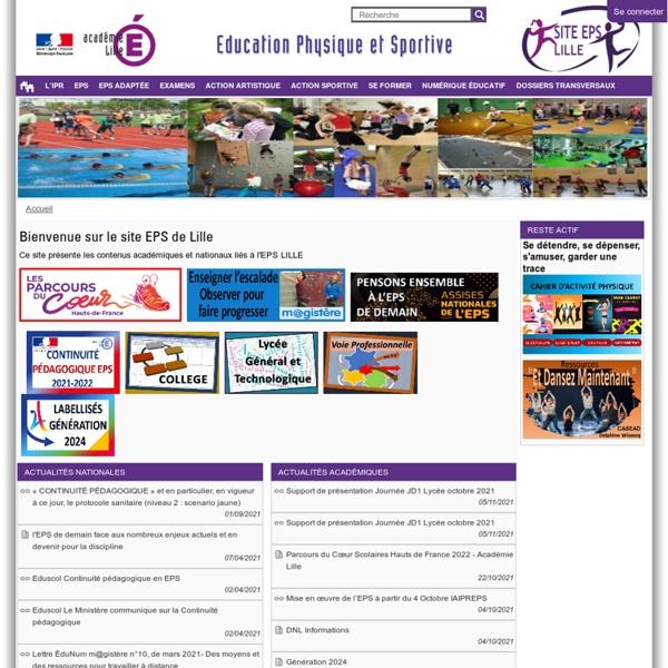 EPS - Académie de Lille
