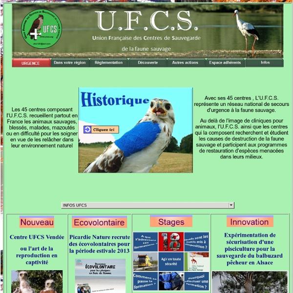 UFCS : Union Françaises des Centres de sauvegarde