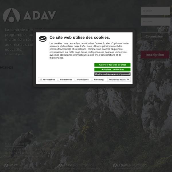 Bienvenue sur le site de l'ADAV