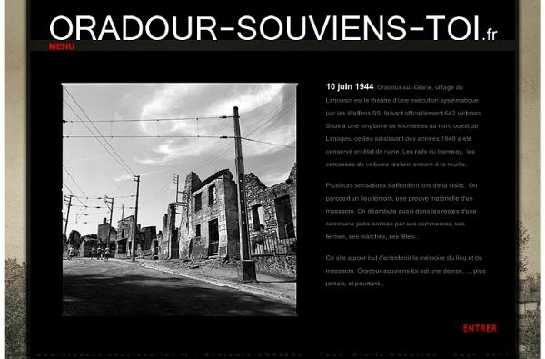 Se souvenir d'Oradour