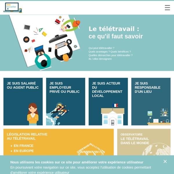 Bienvenue sur teletravailler.fr