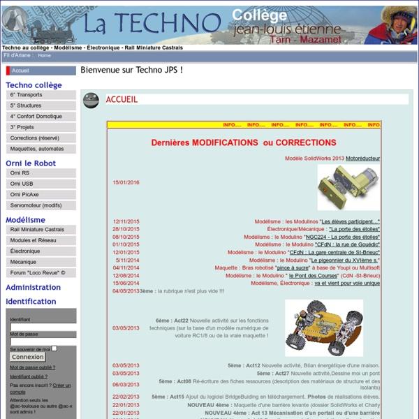 Bienvenue sur Techno JPS !