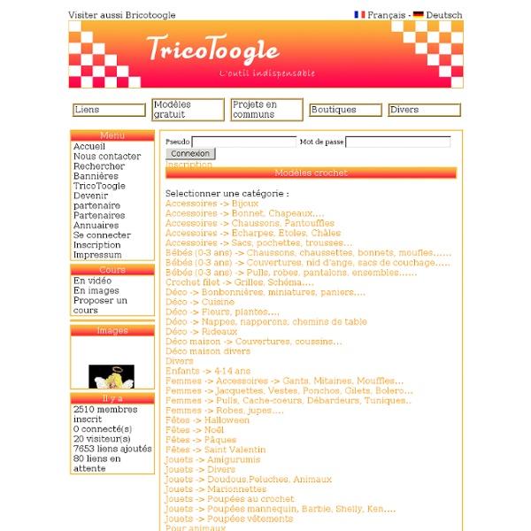 Bienvenue sur Tricotoogle