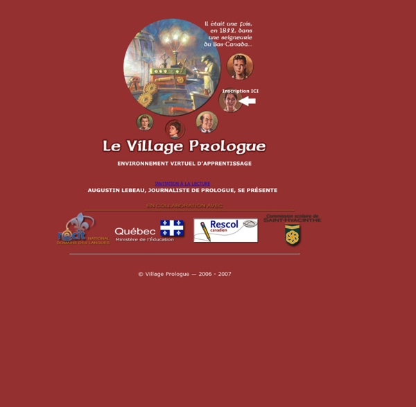 Bienvenue au Village Prologue