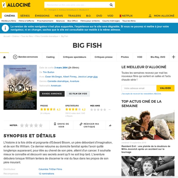 Big Fish - film 2003
