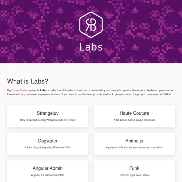 Labs by Big Room Studios