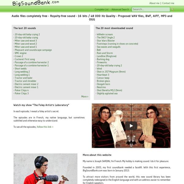 BigSoundBank.com