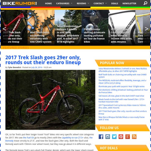Cycling News and Bike Reviews for Road Bikes, Mountain Bikes, BMX and More - Bike Rumor