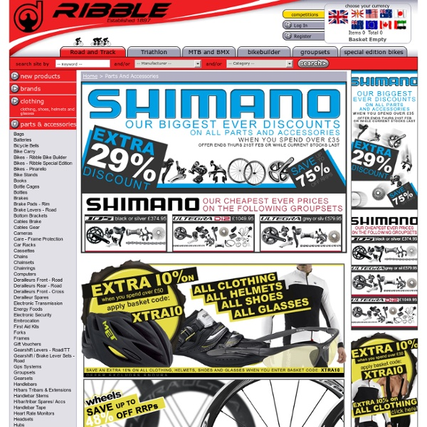 Buy Road Bikes & Parts at Ribble Cycles