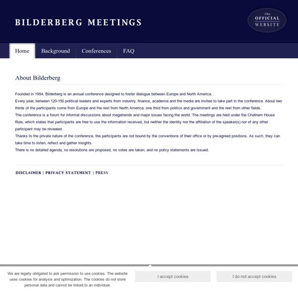Bilderberg Meetings