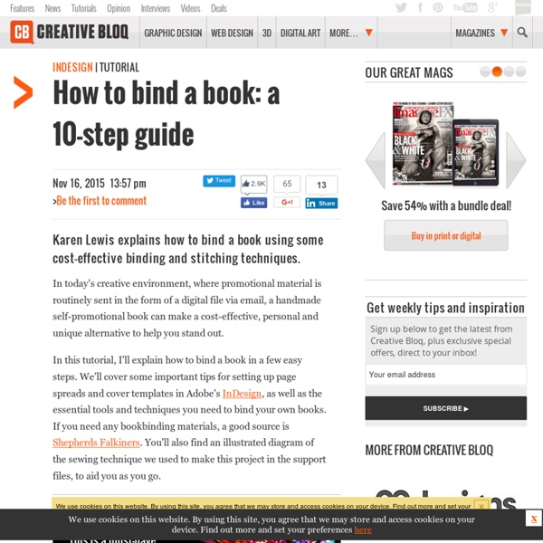 Bind your own books
