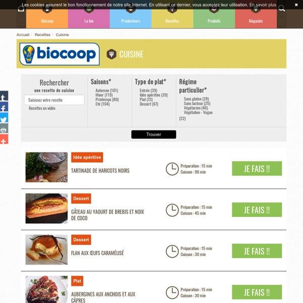 Cuisine - Biocoop