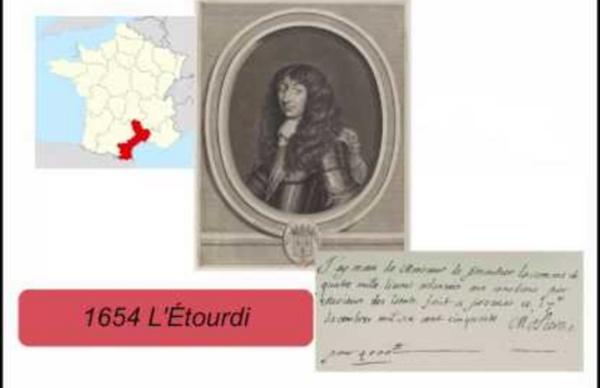 Biographie de Molière