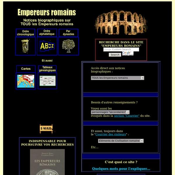 Empereurs romains