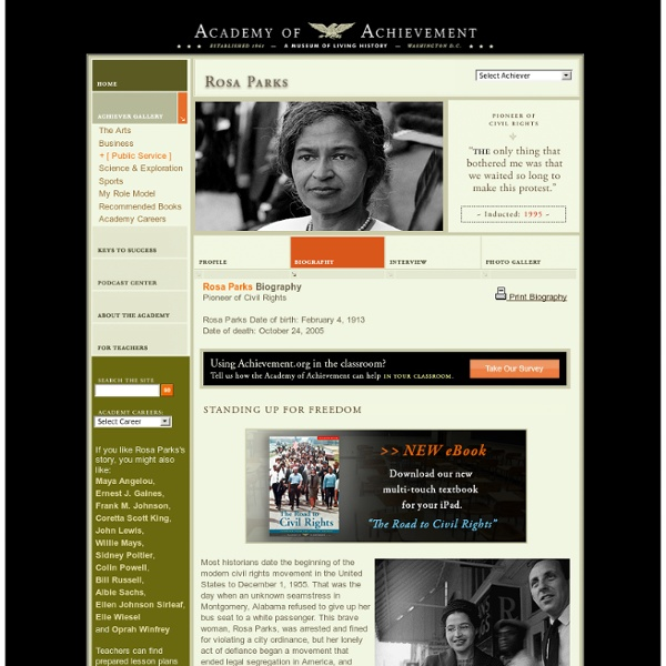 Rosa Parks Biography
