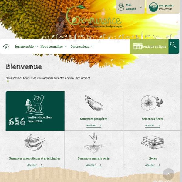 Germinance - Semences biologiques et biodynamiques