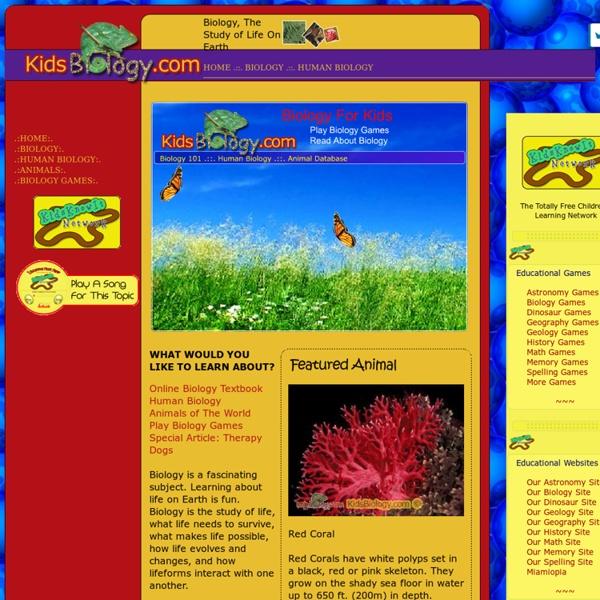 Biology For Kids - KidsBiology.com