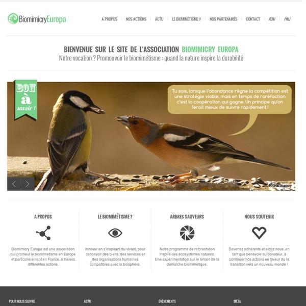 Biomimicry Europa, comité français