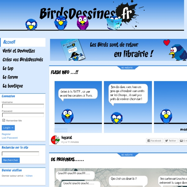 Partagez vos Birds Dessinés