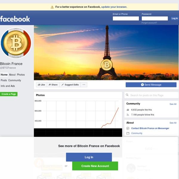 Page francophone qui propose des rubriques sur l'actualité du bitcoin, des présentations par des économistes et des informations autour du thème.