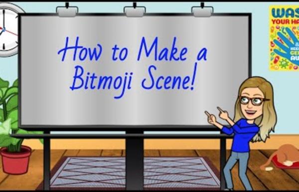 (93) Make a BItmoji Classroom Scene in Google Slides!