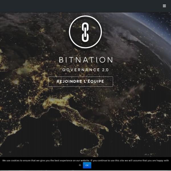 BITNATION: Governance 2.0