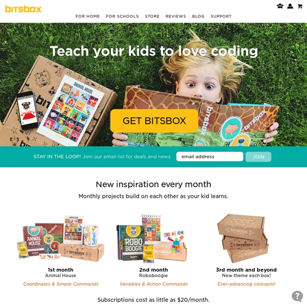 Bitsbox - Monthly Code Projects for Kids