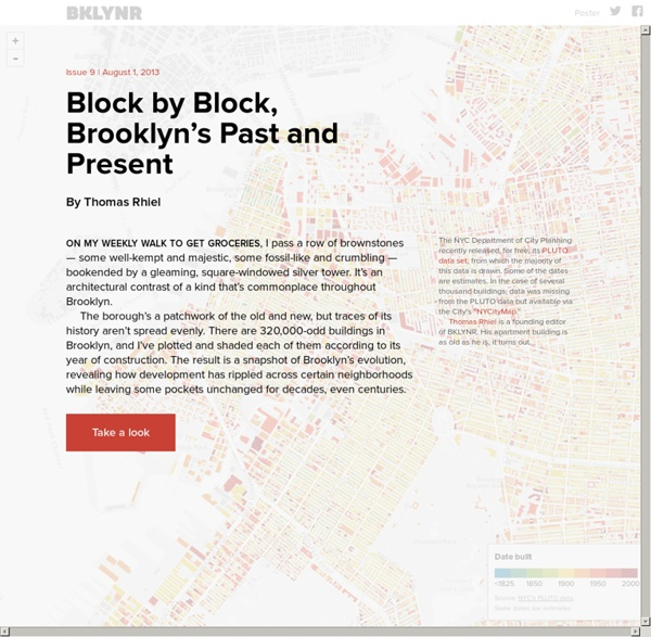Block by Block, Brooklyn's Past and Present