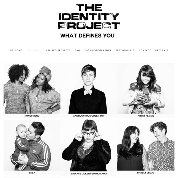 The Identity Project - What defines you – Sarah Deragon