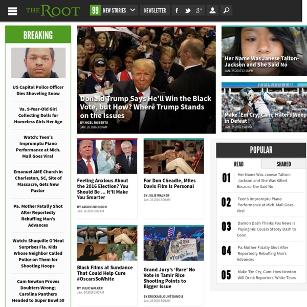Black News, Opinion, Politics and Culture