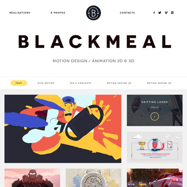 BLACKMEAL - Animation & VFX Studio