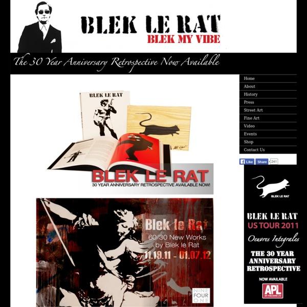 Stencil Graffiti / Blek le rat - my vibe