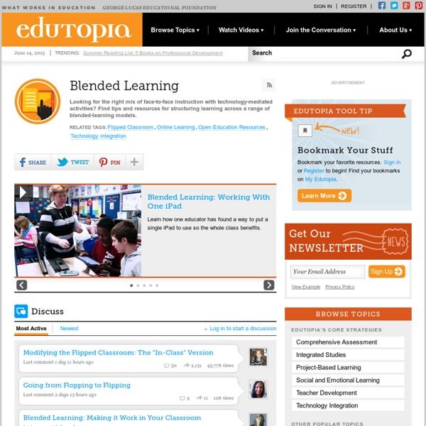 Blogs on Blended Learning