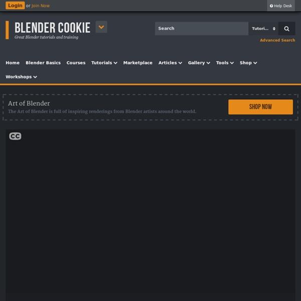 Blender Basics - Introduction for Beginners - Blender Cookie