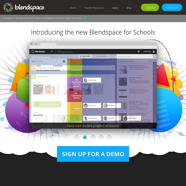 Blendspace for schools