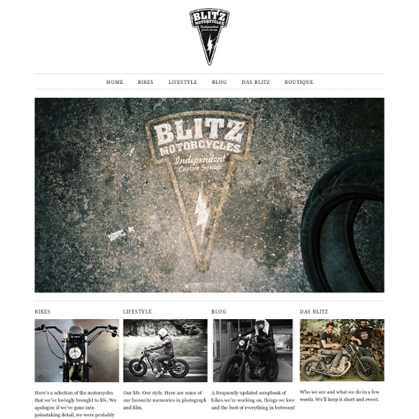 Blitz Motorcycles - Home