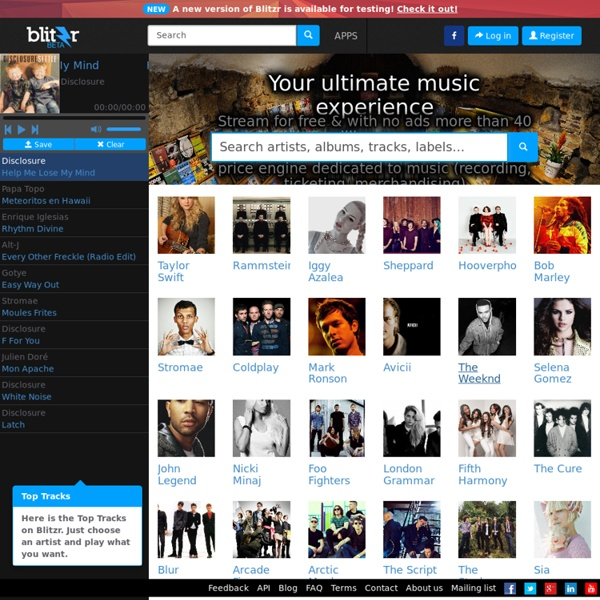 Blitzr - Your ultimate music experience!